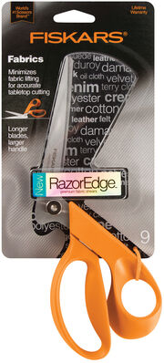 Fiskars Razoredge 9In Fabric Shears For Tabletop, , hi-res