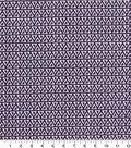 Quilter\u0027s Showcase Cotton Fabric -Triangles Purple
