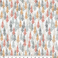 Harvest Cotton Fabric-Fall Forest