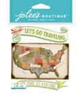 Jolee's Boutique Stickers-USA Map
