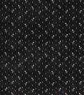 Vintage Cotton Fabric 43\u0027\u0027-Raindrop Floral on Black