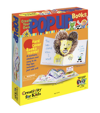 Creativity for Kids Kit-Create Your Own Pop-Up Book