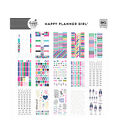 The Happy Planner Girl Value Pack Stickers - Socialite Mini