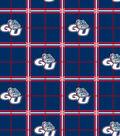 Gonzaga University Bulldogs Flannel Fabric 42\u0022-Plaid