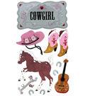 Jolee\u0027s Boutique Le Grande Dimensional Sticker-Cowgirl