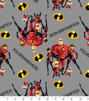 Disney The Incredibles Print Fabric by Springs Creative-Family, , hi-res