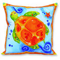 Diamond Dotz Decorative Pillow Kit-Turtle Journey