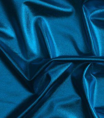 """Cosplay by Yaya Han 4-Way Metallic Fabric 59""""-Metallic Turquoise"""