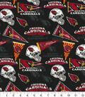 Arizona Cardinals Cotton Fabric-Retro