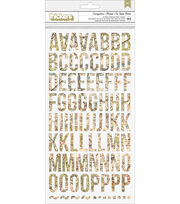 American Crafts Thickers Pack of 163 Everywhere Stickers-Letters, , hi-res