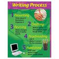 Writing Process Learning Chart 17\u0022x22\u0022 6pk