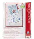 Dimensions Stocking Cross Stitch Kit 16\u0022 Long-Holiday Home