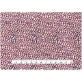 Keepsake Calico Cotton Fabric-Burgundy Smeared Dots