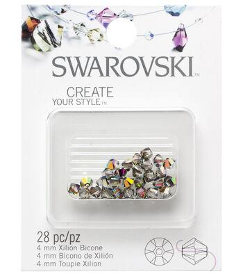 Swarovski Create Your Style 28 pk 4mm Bicone Vitrail Beads