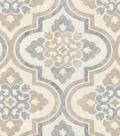 P/K Lifestyles Upholstery Fabric 54\u0022-Lattice Imprint/Cobblestone