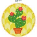 Dimensions Learn-A-Craft Felt Applique Stitch Kit-Cactus