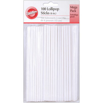 "Wilton 6"" Lollipop Sticks"