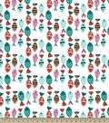 Colorful Fish Print Fabric