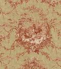Waverly Multi-Purpose Decor Fabric 54\u0022-La Petite Ferme/Ruby