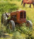 Novelty Cotton Fabric 44\u0027\u0027-Barns & Trucks