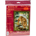 RIOLIS 11.75\u0027\u0027x15.75\u0027\u0027 Counted Cross Stitch Kit-Owner of the Jungle