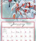 2019 Wall Calendar Songbirds