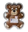 Wilton Novelty Cake Pan-Teddy Bear 13.5\u0022X10.5\u0022X2\u0022