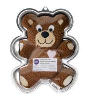 """Wilton Novelty Cake Pan-Teddy Bear 13.5""""X10.5""""X2"""", , hi-res"""