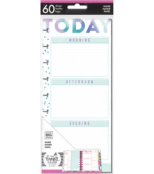 The Happy Planner Girl Classic Half Sheet Paper-Encourager Today
