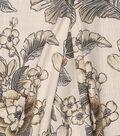 Jaclyn Smith Multi-Purpose Decor Fabric 54\u0027\u0027-Botanical