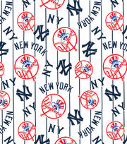 Cooperstown New York Yankees Cotton Fabric, , hi-res