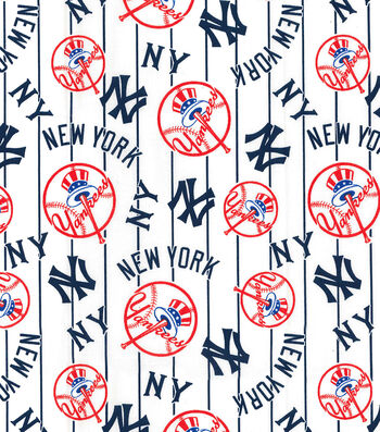 Cooperstown New York Yankees Cotton Fabric