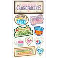 Sticko Plus Stickers Proud Grandparents