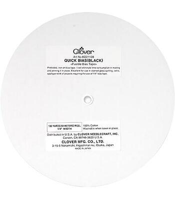 Clover Quick Bias Tape 100yd-Black