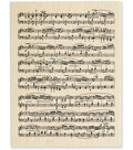 Stampendous Wood Stamp-Music Score