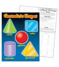 Geometric Shapes Learning Chart 17\u0022x22\u0022 6pk