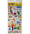 Toy Box Chipboard Accents 6\u0022X13\u0022