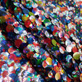 Let\u0027s Pretend Sequin Fabric-Holographic Graffiti