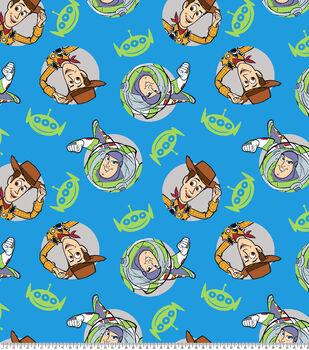 Disney Toy Story Fleece Fabric-4 Badges