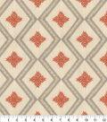 Home Decor 8\u0022x8\u0022 Fabric Swatch-Genevieve Gorder Kyss Emb Adobo