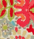 Home Essentials Upholstery Fabric 45\u0027\u0027-Coral Floral Ikat