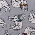 Anti-Pill Plush Fleece Fabric-Dogs And Scarves Tossed
