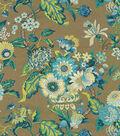 Waverly Graceful Garden Lightweight Decor Fabric 54\u0022-Blue Jay