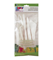 Simply Art Palette Painting Knives 5/Pkg, , hi-res