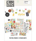 Carpe Diem Recipe A5 Stickers