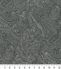 Keepsake Calico Cotton Fabric 44\u0022-Kenya Charcoal