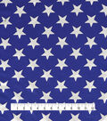 The Witching Hour Halloween Fabric 62\u0022-Star Foil Knit Blue/White
