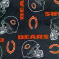 Chicago Bears Fleece Fabric -Tossed