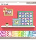 K&Company Basics Paper Pad Brights 8.5\u0027\u0027x8.5\u0027\u0027