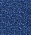 Wide Quilt Fabric 108\u0027\u0027-Dark Blue Packed Floral